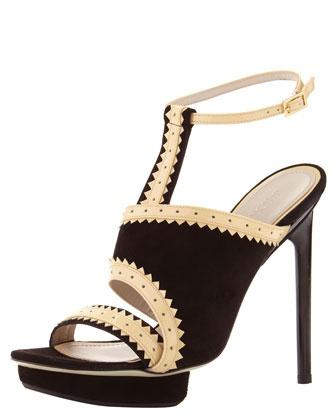 Asymmetric Ankle-Wrap Platform Sandal by Jason Wu, 212 872 8947: Heels Jason, Wu Asymmetric, Jason Wu, Shoesholic Heels, High Heels, Heels Shoes, Platform Sandals, Asymmetric Ankle Wrap