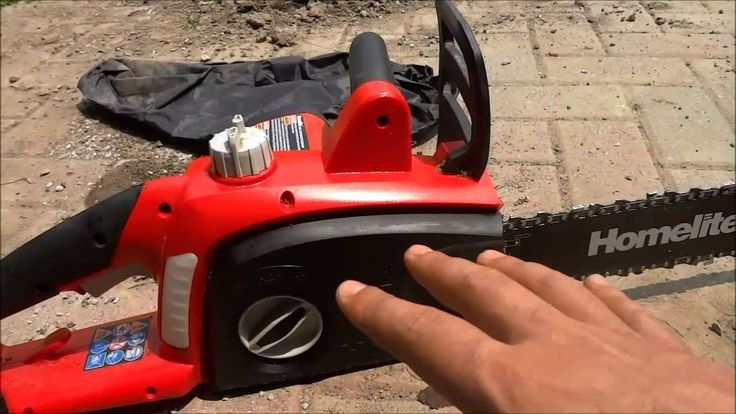 Homelite 16 inch electric chainsaw review12 amp