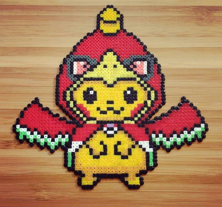 Pin By Cherizzle Diamond On Perler Bead Pokemon Perler