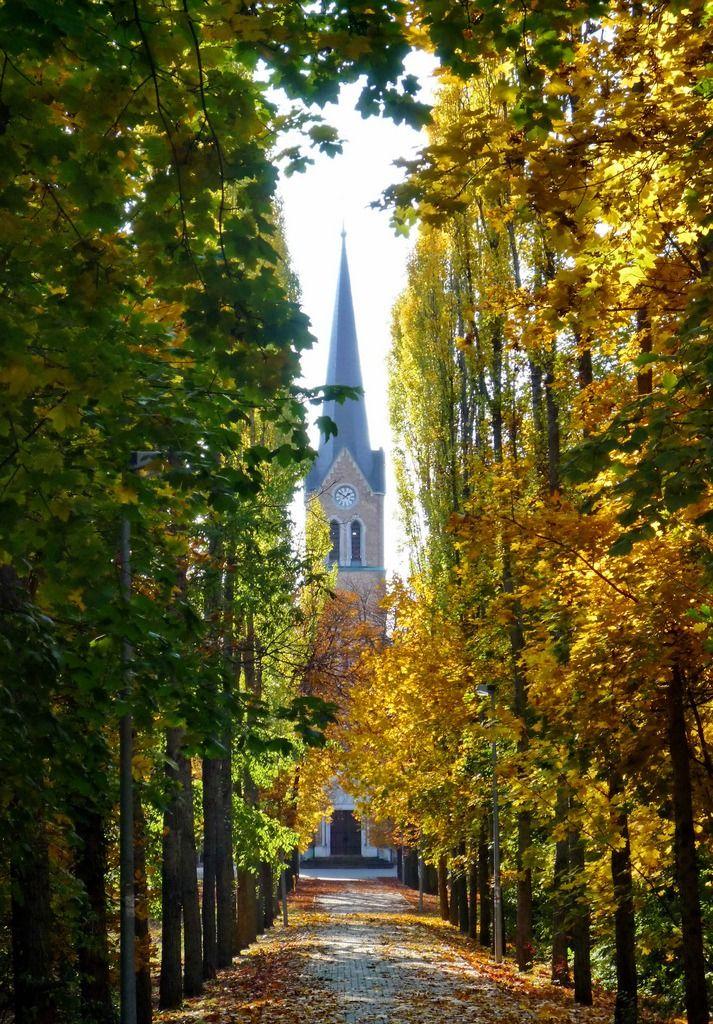 Máriaremete Church Park, Budapest (by elinor04)