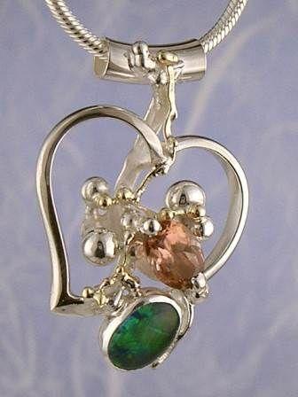 Konstsmycken, Hänge, Ringar, Örhängen, Armband, Halsband, Smycken med Opal