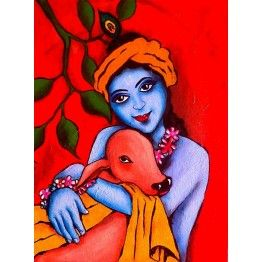 A Painting of Lord Krishna