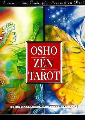 Osho Zen Tarot The Transcendental Game Of Zen Book By Osho Cards New #StMartinsPress