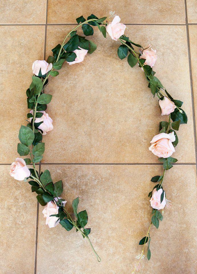 Rose Garland Pink