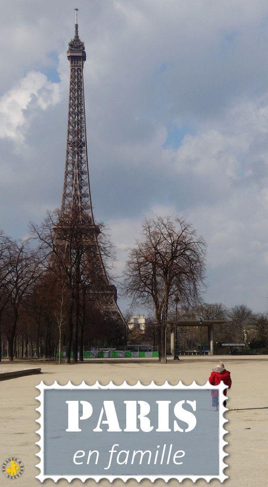Idées pour visiter Paris avec des enfants en 3 jours et lien vers tous nos articles