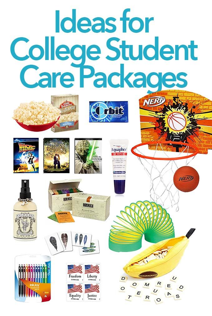 College Care Package for Boys WantNeedLove! Pinterest - college