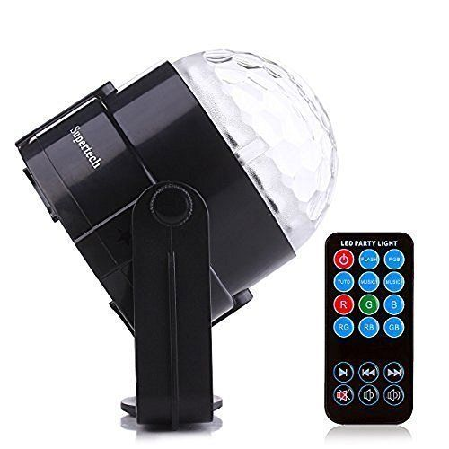 DJ Light Sound Activated Party Lights Disco Ball KINGSO Strobe Club Effect Led..