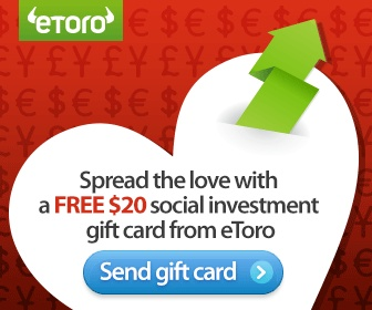 Spread the love with a FREE $20 social investment gift card
