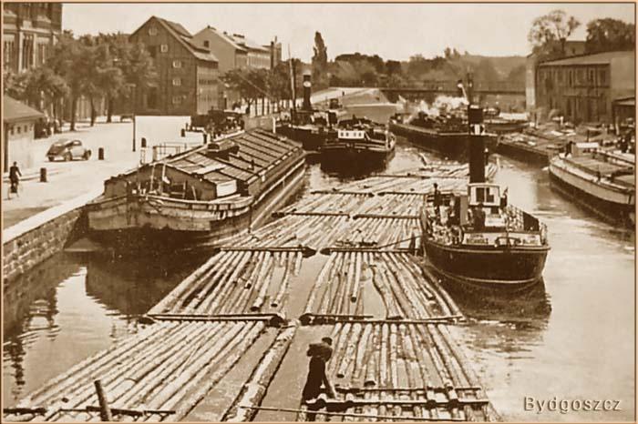 La Mare - Geschichte der Binnenschiff Dampfer - Dampfschiffe in Bydgoszcz