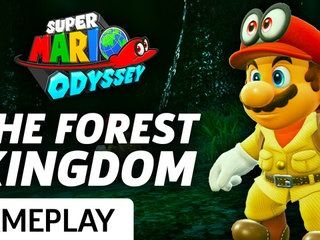 Super Mario Odyssey - The Forest Kingdom Gameplay
