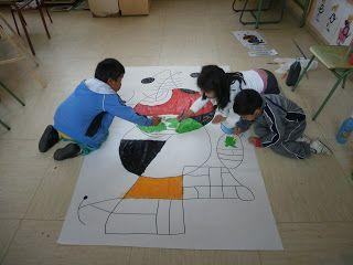 educacion infantil silvio abad: proyecto joan miró