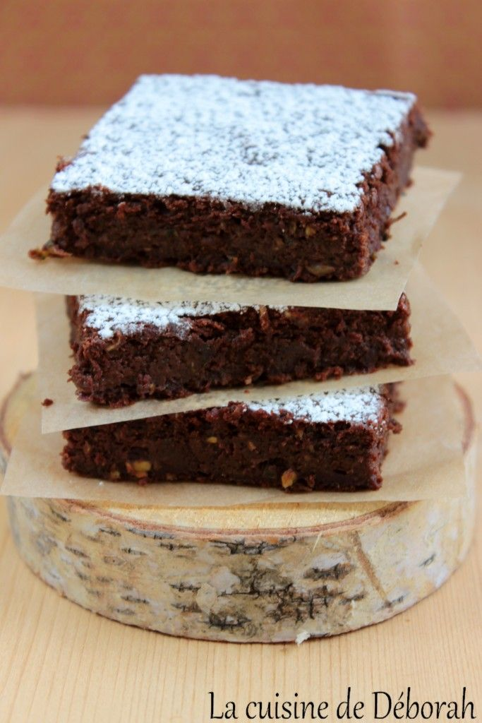 Fondant chocolat-courgette, sans beurre, sans plv! Chocolate and zucchini cake recipe!
