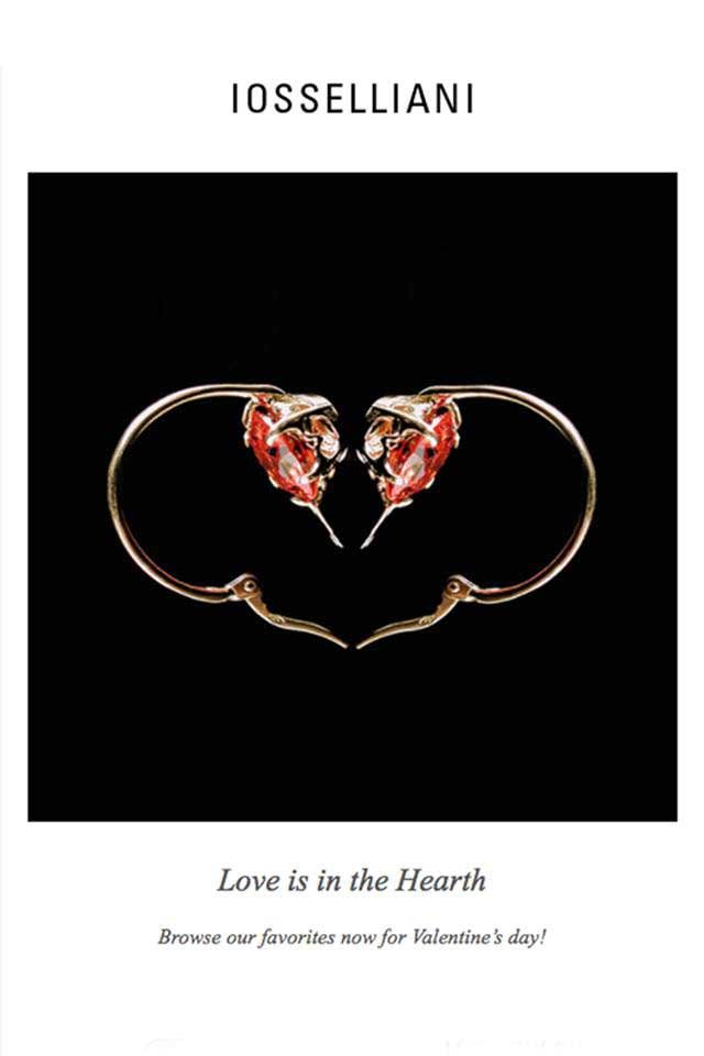 ♡ #IOSSELLIANI VALENTINE ♡ Love is in the Hearth!