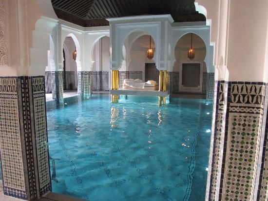 La Mamounia Marrakech (Marrakech, Morocco) #hotel #pool