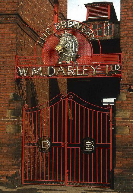 Darleys Brewery gates