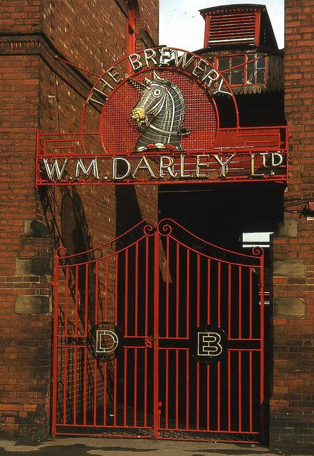 Darleys Brewery gates