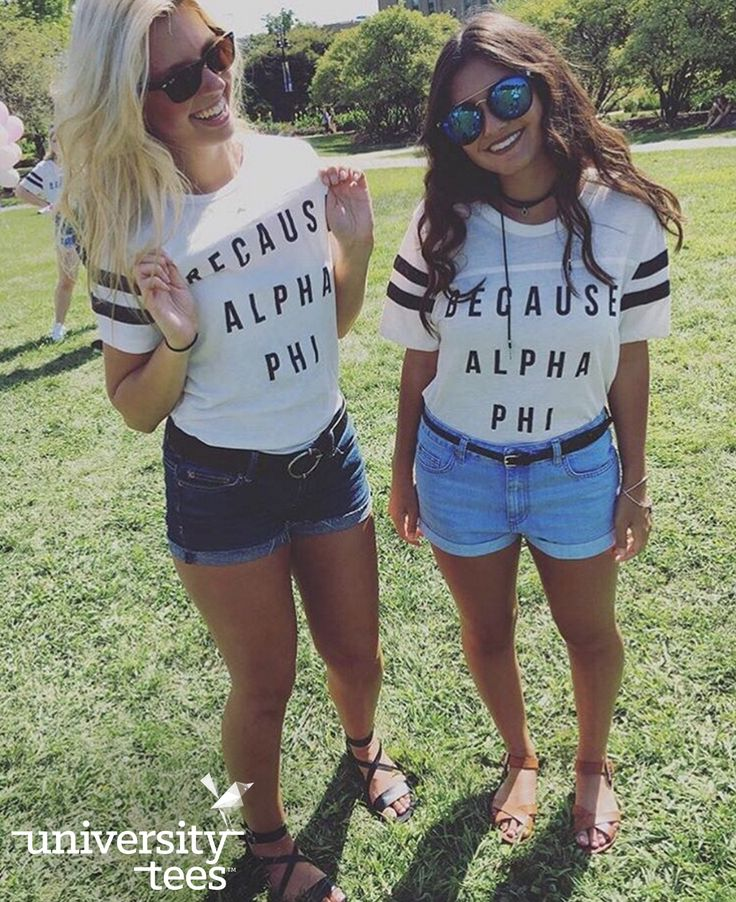 no other reason necessary  | Alpha Phi | Made by University Tees | universitytees.com