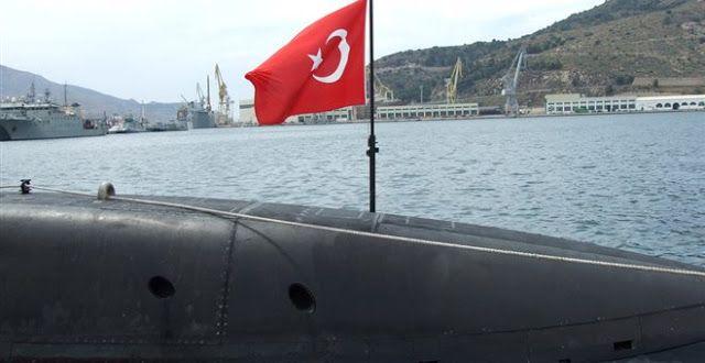 Ανεξέλεγκτη δράση τουρκικών υποβρυχίων σε  ολόκληρο το Αιγαίο