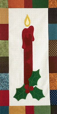 Wool in Winter Skinnie Wall Quilt Kit