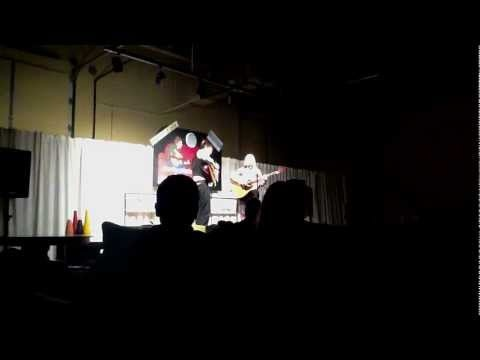 """The Honey DewDrops perform """"Fly Away Free"""" at Comfy Couch Concerts in Wixom Michigan on March 26th 2011."""