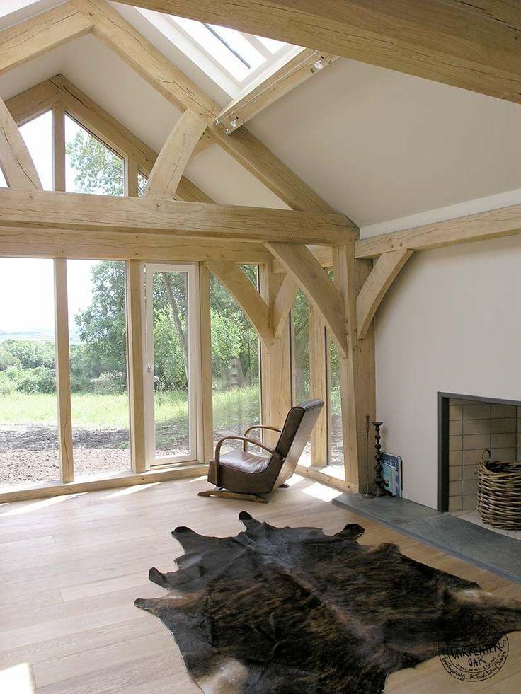 Image result for swedish timber frame house interior