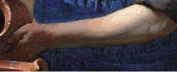 The Milkmaid (detail), Johannes Vermeer