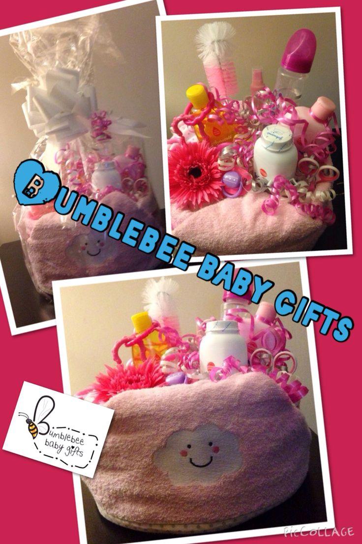 Baby bath time nappy cake