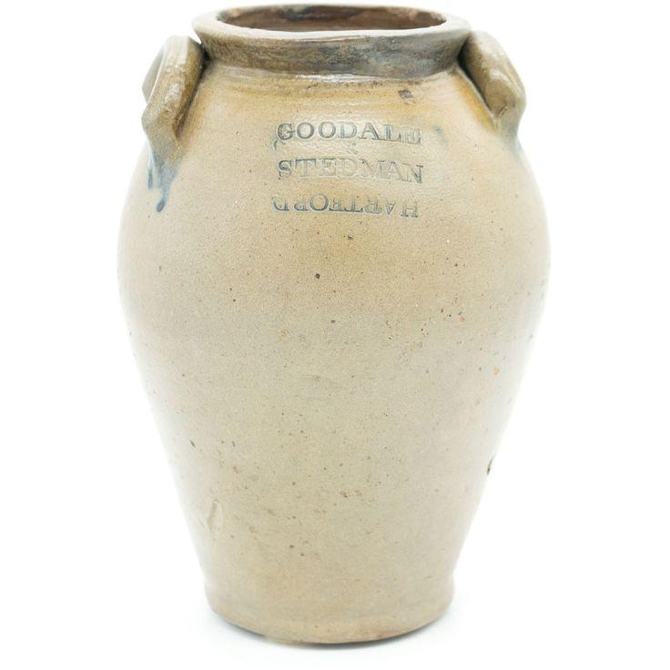 Goodale & Stedman Antique Stoneware Crock Jug