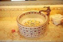 la mano Jingdezhen arte porcelana fina pintada <strong> baño <…