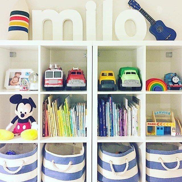 Oh man. Talk about playroom organization goals, right here!  Via @shirabessinteriors!