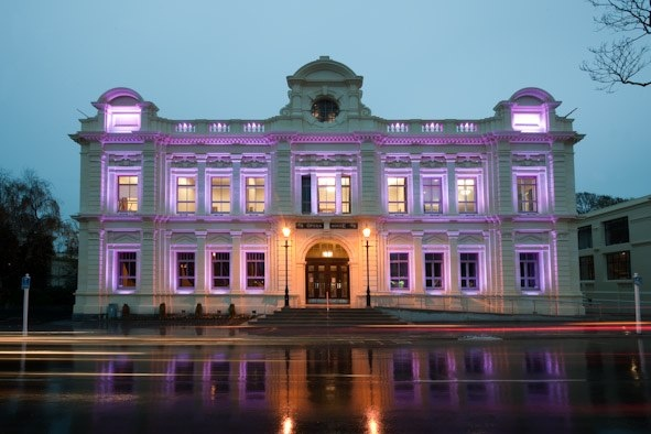 Front facade - Oamaru Opera House, Williams Ross Architects