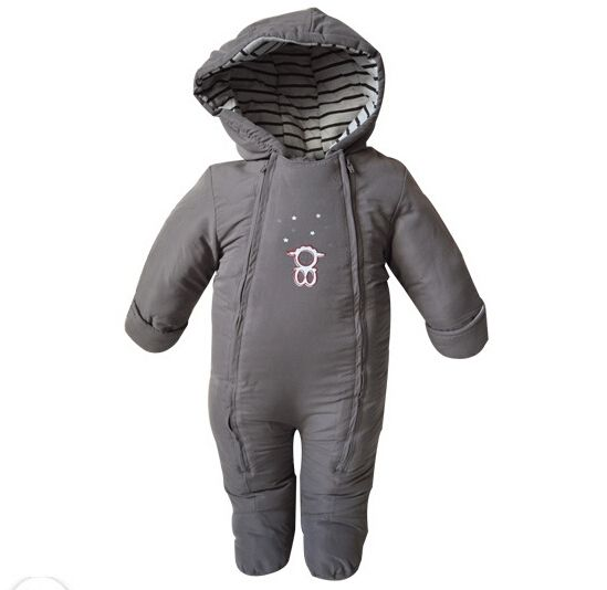 32.18$  Watch here - http://alilsw.shopchina.info/go.php?t=2033386644 - Original 2015 new baby boy girl romper bebe thicken warm hooded outerwear newborn infants winter cotton-padded clothing 32.18$ #bestbuy
