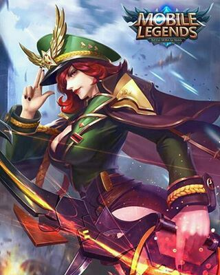 "Mobile legends - Miya ""Captain Thorns"""