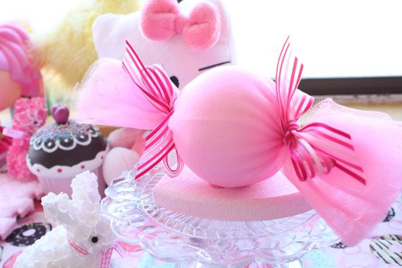 Riesige Candy Hair Clip Pink