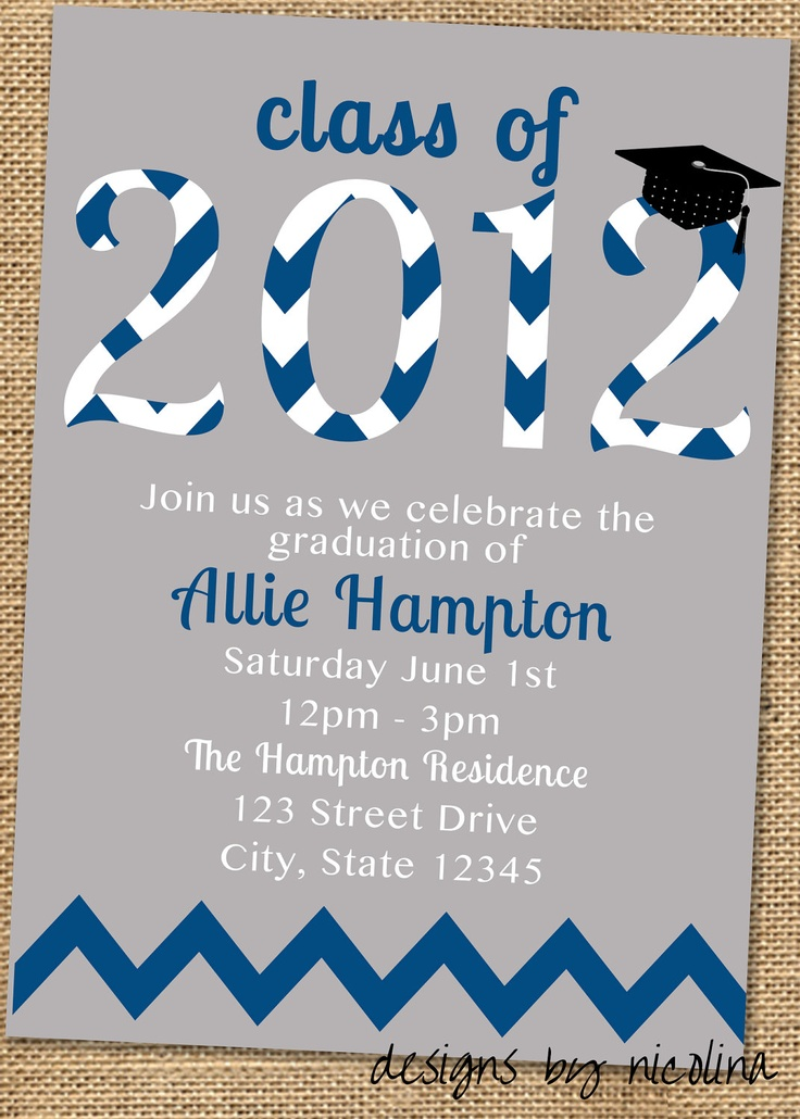 sample open house graduation party invitations%0A Graduation Party PRINTABLE Invitation or by designsbynicolina  Graduation      Graduation IdeasGraduation Open HousesGraduation