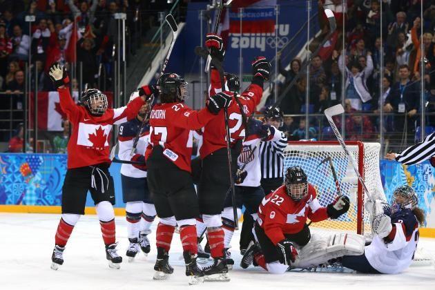 2014 Winter Olympics Hockey USA vs. Canada | USA vs. Canada Women's Hockey: Score and Recap from 2014 Winter ...
