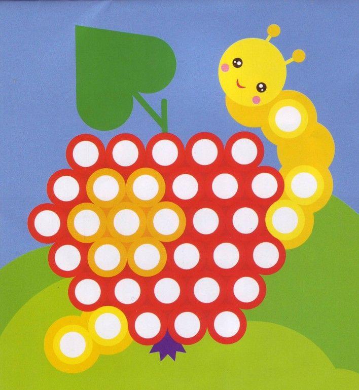 Шаблоны для игр с пуговицами и иголочками