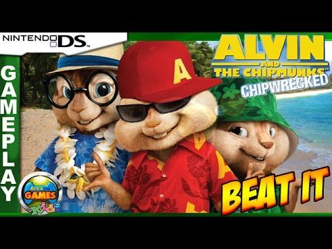 Alvin and the Chipmunks - Beat It Gameplay [Nintendo DS]