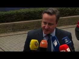 """Ouverture d'un sommet européen pour éviter le """"Brexit"""""""