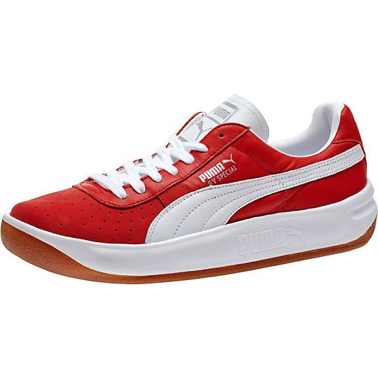 <p>In the late 1970s, tennis player and Argentine playboy Guillermo Vilas went on a title-winning rampage. Known for his one-handed backhand and smashing good looks, he paired with PUMA to create a line of tennis shoes that matched his winning style. Among them? The GV Special. And much like the man behind the legend, it quickly secured its rank: Icon.</p><p>Features:</p><ul><li>Leather upper with nubuck and perf details at forefoot</li&g...