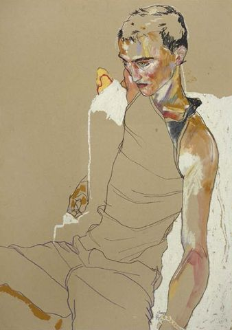 Casting the line, Howard Tangye at HusGallery, London