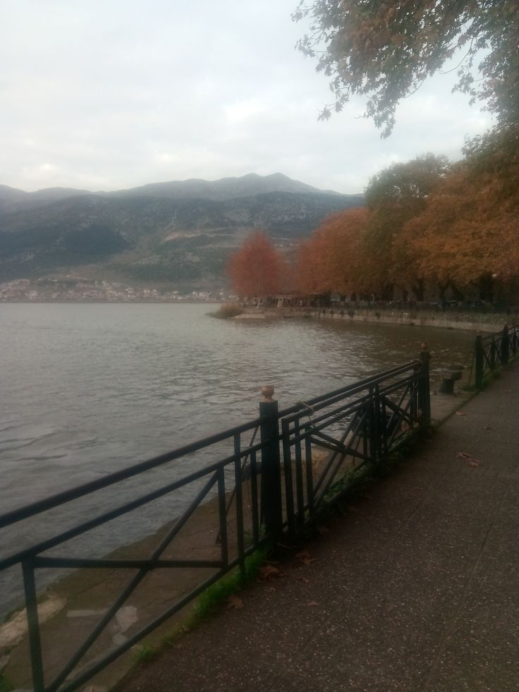 Pamvotida Lake in Ioannina! #greece #epirus #travel #archaeology