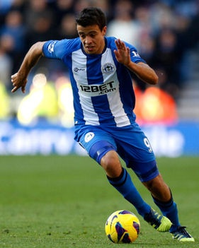~ Franco di Santo on Wigan Athletic ~