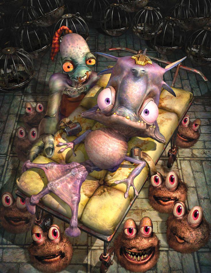 Video Game Art - Oddworld: Munch's Oddysee