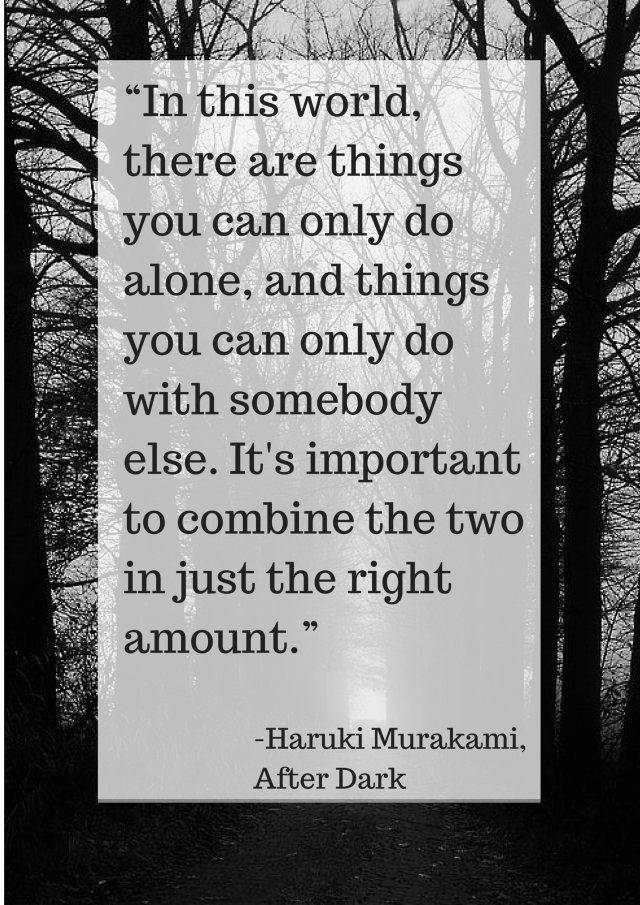 28 best favourite lines images on pinterest book quotes lauren in this world there are things you can only do alone and things fandeluxe Image collections
