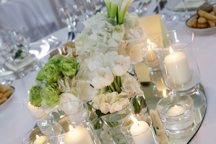 Wedding in Italy: Crisp White and Lime Green as Inspiration for your Table Decor - Leo Eventi