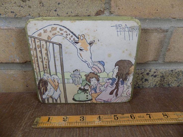 Zoo Pelican Bird Zebra Animal Chocolate Box C1920s - Helen Ainoux Artist | Collectibles, Advertising, Merchandise & Memorabilia | eBay!