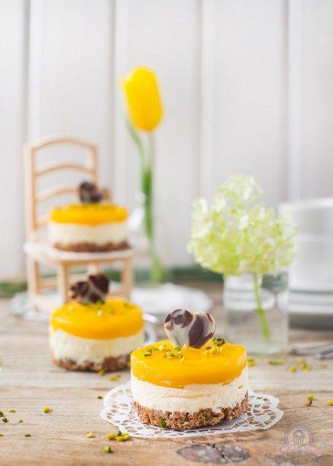 Mango-Törtchen   – No-Bake Tartes, Cakes, Bars…
