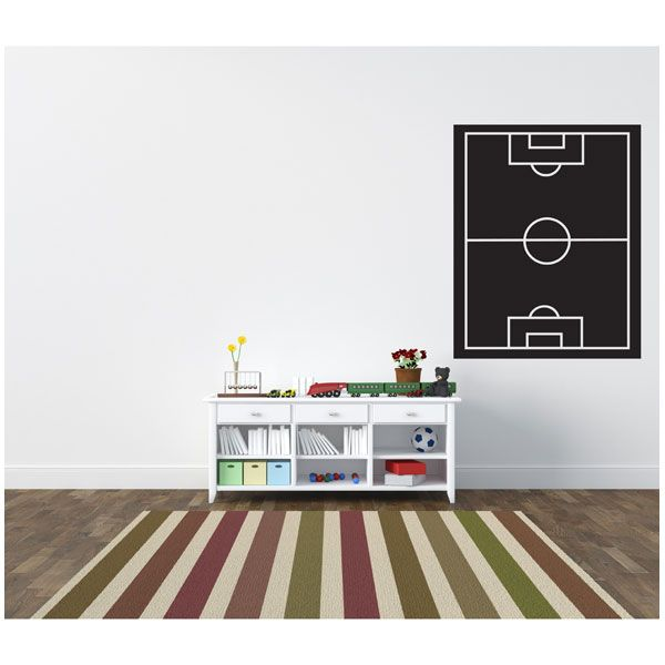 14 best vinilos de futbol images on pinterest baby rooms for Decoracion con vinilos