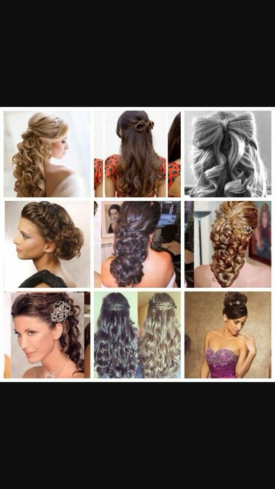 Special hairstyles